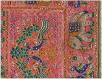 BOX PALLU WITH LACE SAREE EMBROIDERY DESIGN
