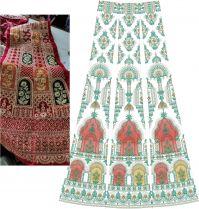 new trend  concept lehenga kali  design