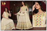 anarkali  ready made embroidery design