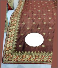 DHAGA + HAND saree embroidery design