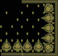 SEQUIN  + BOX  PALLU  SAREE EMBROIDERY DESIGN