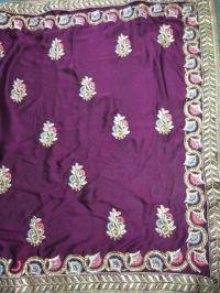 embroideri saree