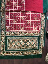 gujrat test saree embroidery design