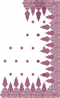 tatami embroidery saree design