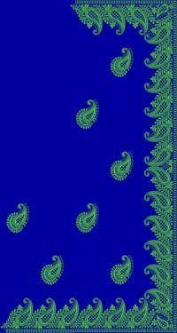 jari embroidery saree design