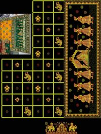 Gujarat test saree figar