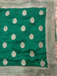hand+tatami embroidery saree