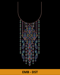 Latest Neck embroidery design