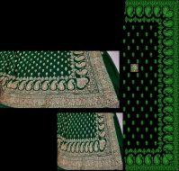 singal jari saree design