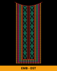 Embroidery Neck Design for Dress