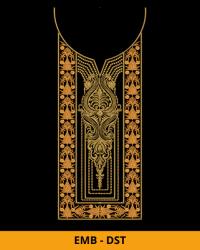 Neck Embroidery Design for Kameez