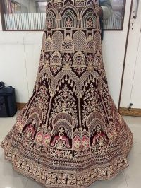 Embroidery lehengha design