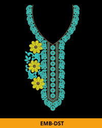 Embroidery Design for Kurti