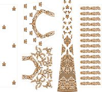 lehengha embroidery design 3mm